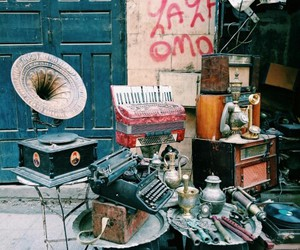 instrument, music, and old image