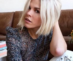 beautiful, blond, and bob image