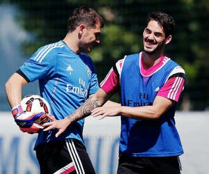 isco, real madrid, and casillas image