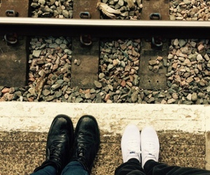 couple, shoes, and jamie campbell image