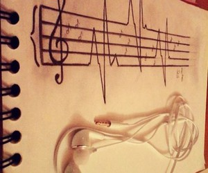 draw, inspiration, and music image