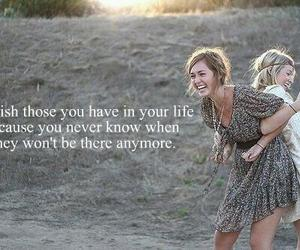 friends, life, and quote image