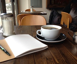 coffee, tumblr, and cafe image