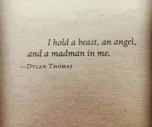 angel, beast, and quote image