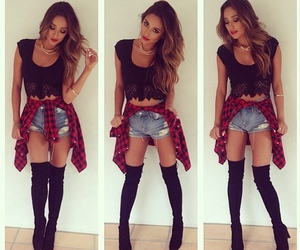 fashion, shay mitchell, and outfit image