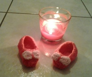 baby shoes, diy, and knitting image