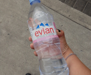 evian, grunge, and pale image