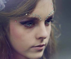 blond, fairy, and makeup image