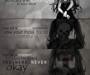 quotes, anime, and sadness image