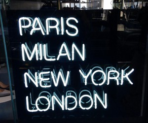 london, milan, and new york image