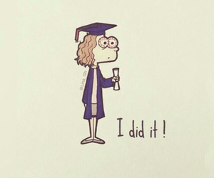 graduation, i did it, and congratulations image