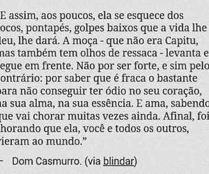 dom casmurro, frase, and frases image