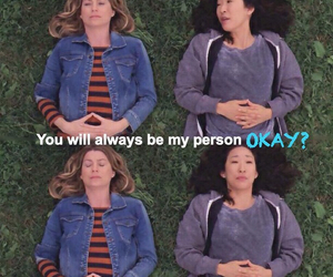 greys anatomy, meredith grey, and friends image
