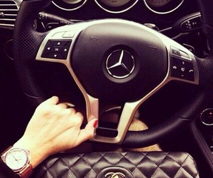 car, mercedes, and chanel image