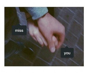love, couple, and miss image