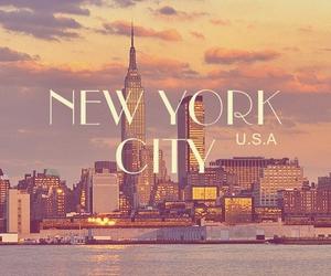 new york, city, and usa image