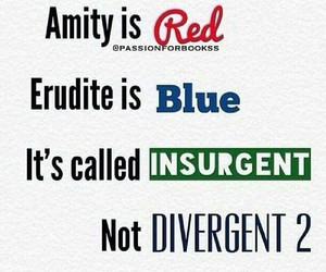 divergent, insurgent, and amity image