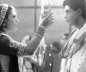 bollywood, couple, and srk image