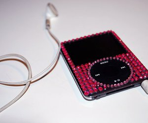 ipod, pink, and music image