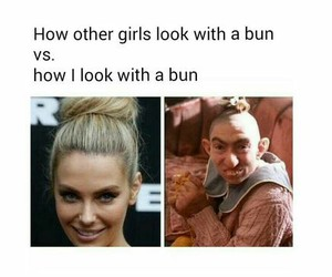 funny, bun, and lol image