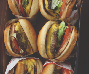 burger, eat, and food image