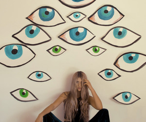 alternative, bedroom, and eyes image