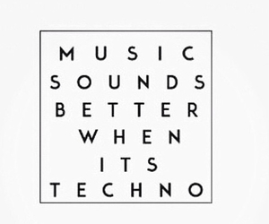 rave and techno image