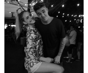 couple, justin bieber, and barbara palvin image