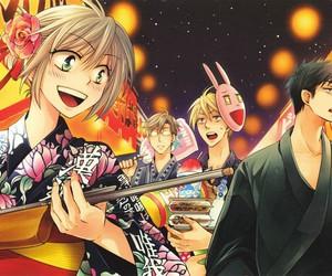 oresama teacher, kurosaki mafuyu, and saeki takaomi image