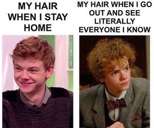funny, hair, and true image