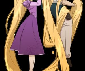 tangled, disney, and rapunzel image