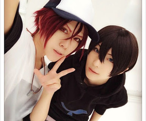 cosplay, rin, and haru image