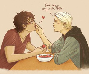 draco, drarry, and harry image