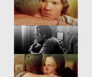 dean winchester, sam winchester, and supernatural image