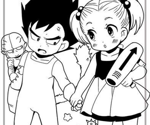 bulma, dragon ball, and dragon ball z image