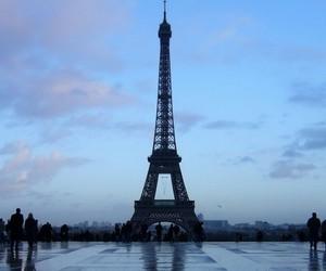 paris, beautiful, and eiffel image