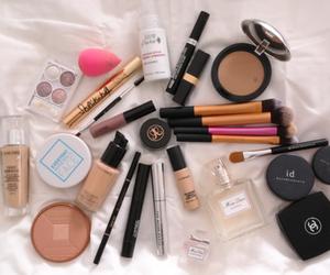 makeup, chanel, and girl image