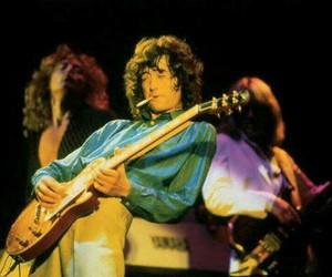 guitar, jimmy page, and john paul jones image