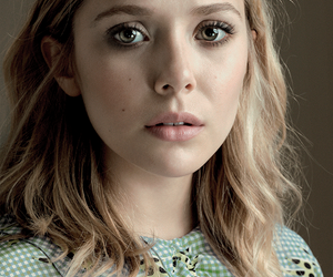 elizabeth olsen, blonde, and actress image