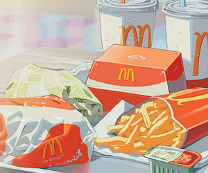 chips, fast food, and Mc image