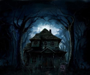 casa, monster house, and Noche image