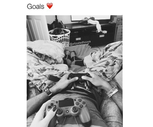 couple, game, and goals image