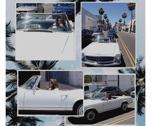 blue, california, and car image