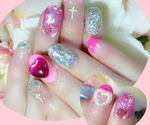 kawaii and nails image
