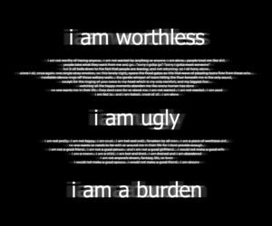 depressed, hate, and sad image