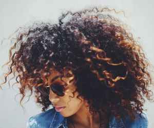 hair, Afro, and style image