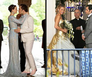 wedding, gossip girl, and blair waldorf image