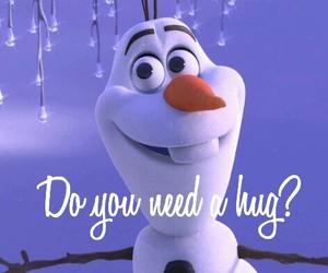 frozen, happy, and hug image