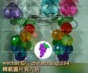 beading angel and beading grapes image
