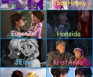 jelsa, shippers, and hiccstrid image